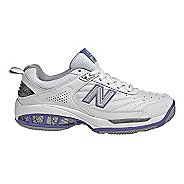 Womens New Balance 806 Court Shoe - White 8.5