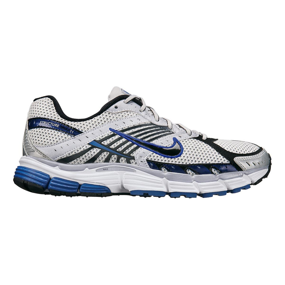 outlet store 50cbd 7c9c1 Mens Nike Air Zoom Structure Triax+ 11 Running Shoe at Road Runner Sports