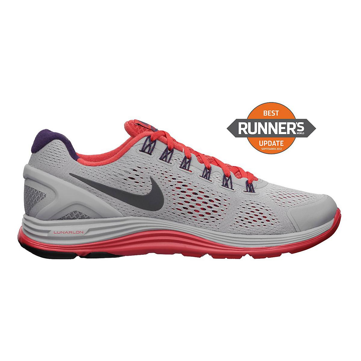61c001301f249 Mens Nike LunarGlide+ 4 Running Shoe at Road Runner Sports
