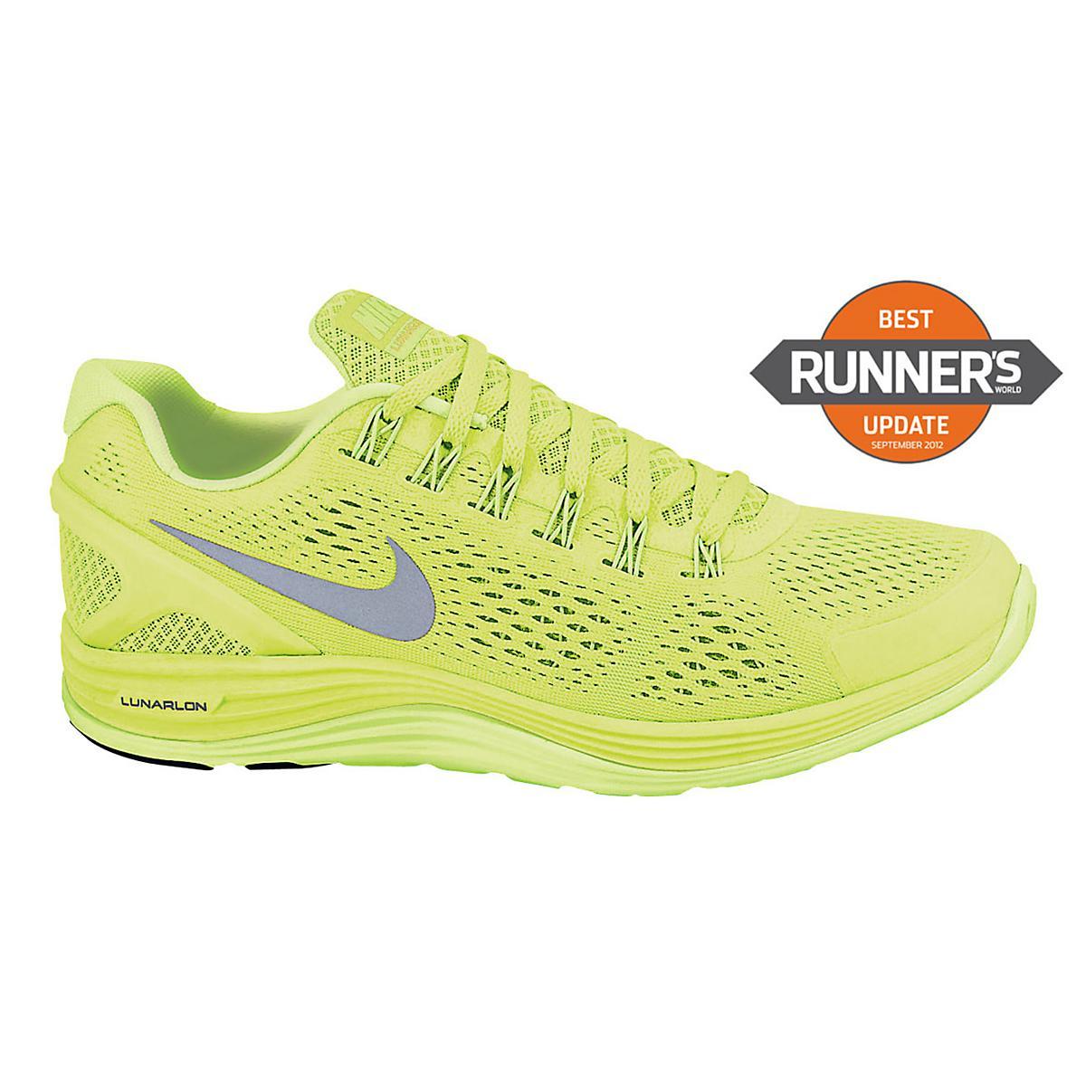 eff434d2e2883 Womens Nike LunarGlide+ 4 Running Shoe at Road Runner Sports