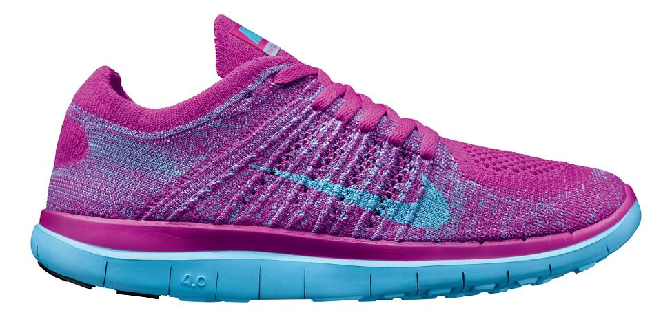 3a3d622a1a7 Womens Nike Free 4.0 Flyknit Running Shoe at Road Runner Sports