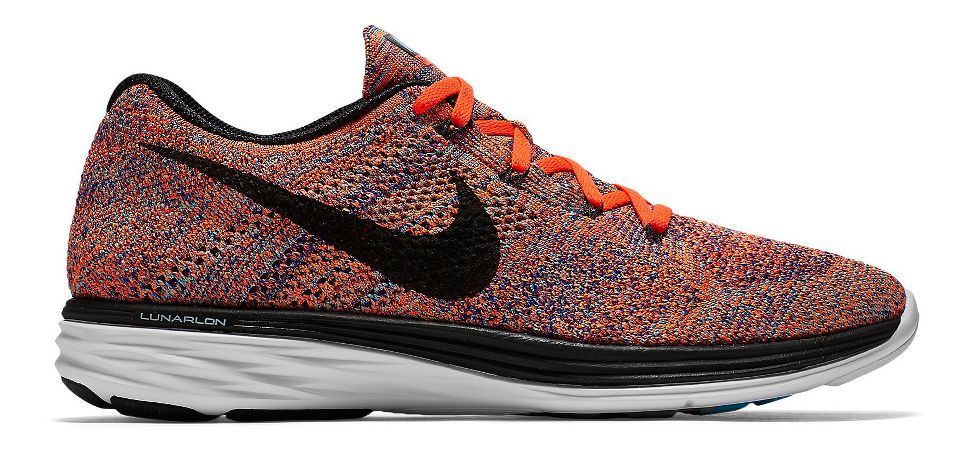 separation shoes d000a befe3 Mens Nike Flyknit Lunar 3 Running Shoe at Road Runner Sports