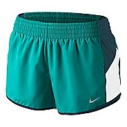 Womens Nike Racer Lined Shorts - Sea Green/White XL