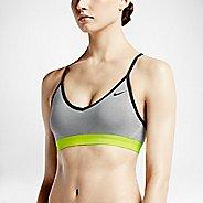 Womens Nike Pro Indy Sports Bra - Heather Grey S