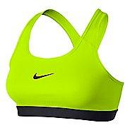 Womens Nike Pro Classic Sports Bra - Volt XL