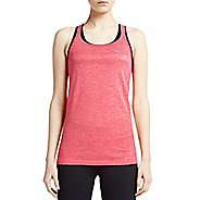 Womens Nike Dri-Fit Knit Strappy Tanks Technical Top - Rio/Heather XL
