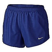 Womens Nike Modern Embossed Tempo Lined Shorts - Deep Royal Blue XL
