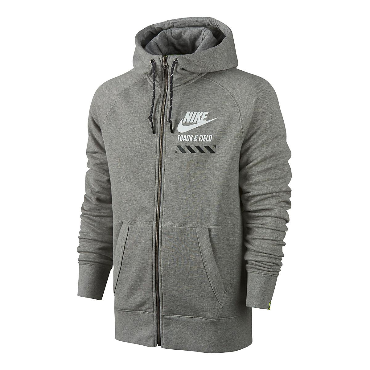 ba51c3dd2ca0 Mens Nike AW77 FU NTF Fly Full-Zip Hoodie Running Jackets at Road Runner  Sports