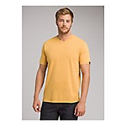 Mens Prana V-Neck Short Sleeve Non-Technical Tops