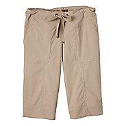 Womens Prana Bliss Knicker Capris Pants - Khaki S