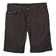 Mens prAna Bronson Unlined Shorts - Charcoal 40