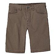 Mens prAna Bronson Unlined Shorts - Mud 33