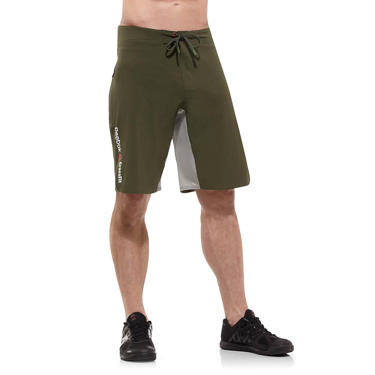 d54205ff89a6 Mens Reebok CrossFit Solid Board Unlined Shorts at Road Runner Sports