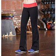 Womens R-Gear Run, Walk, Play Full Length Pants - Black/Poppy Pink XS