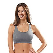 Womens R-Gear Rock Steady T-Back Sports Bra - Heather Charcoal 34A