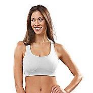 Womens R-Gear Rock Steady T-Back Sports Bra - White 32C
