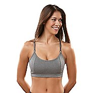 Womens R-Gear Crazy Beautiful Cami Sports Bra - Heather Charcoal 32C