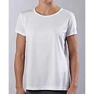 Womens ROAD RUNNER SPORTS Event Tee Short Sleeve Technical Tops - White M