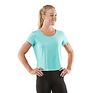 Womens R-Gear Your Fine Print Short Sleeve Technical Tops - Aqua Splash L