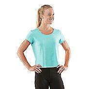 Womens R-Gear Your Fine Print Short Sleeve Technical Tops - Aqua Splash M
