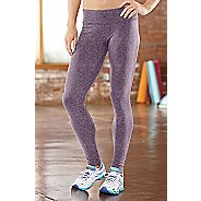 Womens R-Gear Leg Up Legging Full Length Pants - Heather Mulberry Madness L