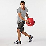 Mens Road Runner Sports All Day V-Neck Short Sleeve Technical Tops - White S