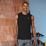 Mens R-Gear Runner's High Sleeveless & Tank Technical Tops - Black S