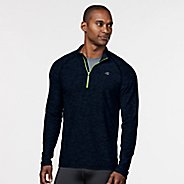 Mens R-Gear In The Zone Half-Zip Long Sleeve Technical Tops - Midnight Blue S