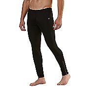 Mens Road Runner Sports Windrunner Fitted Tights - Black S