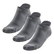 R-Gear Drymax Dry-As-A-Bone Thin Cushion No Show 3 pack Socks - Anthracite M