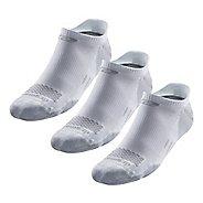 Road Runner Sports Drymax Dry-As-A-Bone Medium Cushion No Show Tab 3 pack Socks - White XL