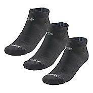 Road Runner Sports Super Breathable Medium Cushion Low Cut 3 pack Socks - Black L