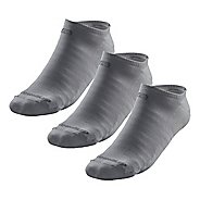 R-Gear Drymax Light & Quick Thinnest No Show 3 pack Socks - Grey S