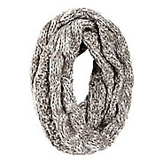 Womens Road Runner Sports Stitch In Time Cable Knit Infinity Scarf Headwear