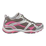 Womens Ryka Enhance 2 Running Shoe - Metallic Steel Grey/Chrome Silver 9.5