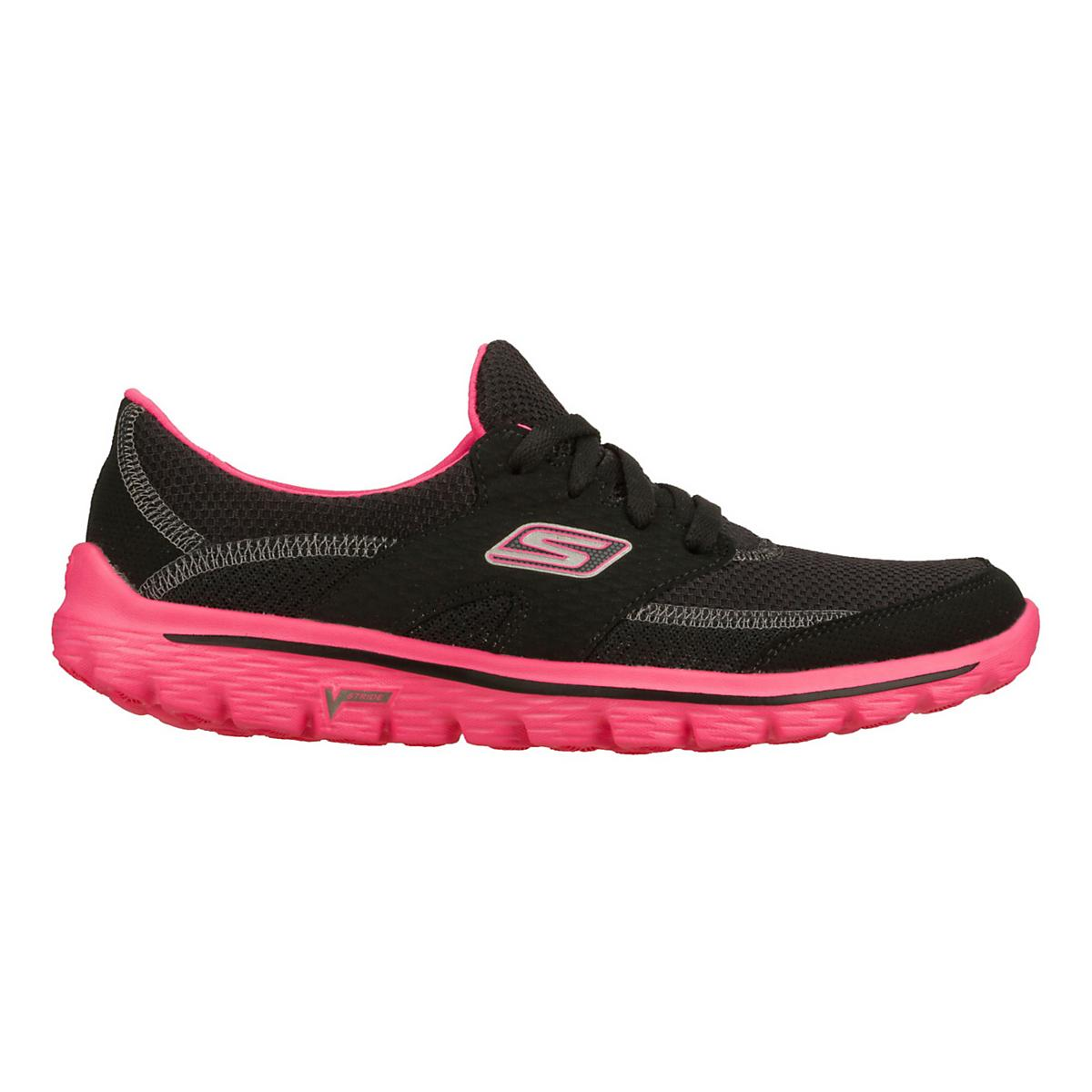 3e03beb8db864f Womens Skechers GO Walk 2 - Stance Walking Shoe at Road Runner Sports