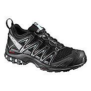Womens Salomon XA Pro 3D Trail Running Shoe - Black/Magnet/Aqua 5