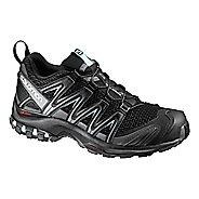 Womens Salomon XA Pro 3D Trail Running Shoe - Black/Magnet/Aqua 5.5
