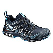 Mens Salomon XA Pro 3D GTX Trail Running Shoe - Navy 10