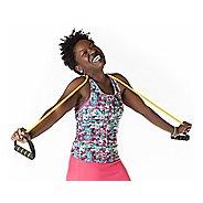 7643d7428fb1b Womens Skirt Sports Wonder Girl Tank Support Tops Bras - Black White XS