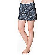 Womens Skirt Sports Gym Girl Ultra Skorts Fitness Skirts - Night Dive Print M