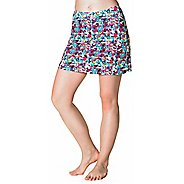 Womens Skirt Sports Happy Girl Skorts Fitness Skirts - Holiday Print L