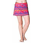 Womens Skirt Sports Happy Girl Skorts Fitness Skirts - Daybreak Print L