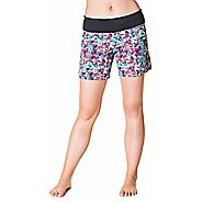 Womens Skirt Sports Go Longer Lined Shorts - Holiday Print L