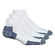 Thorlos Running Mini-Crew 3 pack Socks - White/Navy L