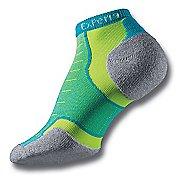 Thorlos Experia Thin Padded Low Cut Socks - Turquellow M
