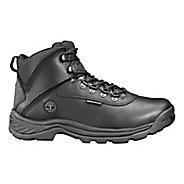 Mens Timberland White Ledge Mid Waterproof Hiking Shoe - Black 7