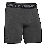 Mens Under Armour Heatgear Armour Compression Short Boxer Brief Underwear Bottoms