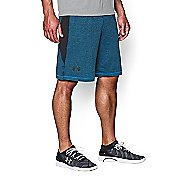 Mens Under Armour Raid Printed Unlined Shorts - Blue Jet/Black S