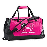 Under Armour Hustle-R Duffel Small Bags - Tropic Pink/White